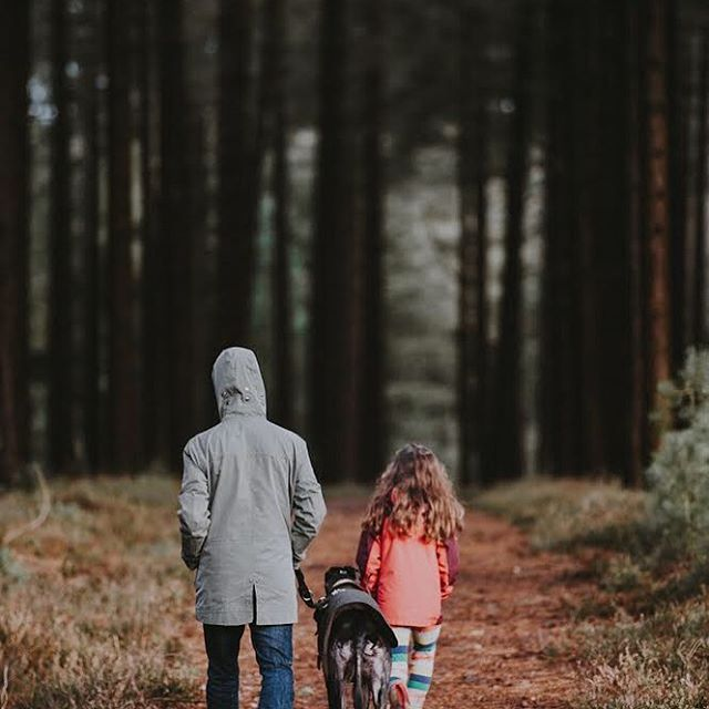 """It might be cold but it's so good to get out into nature. It strengthens our relationships and improves our emotional health and well-being. An unknown author wrote """"there is no wifi in the forest but I promise you will find a better connection"""". #parentchildrelationship #beinginnatureisgoodforthesoul #connection"""