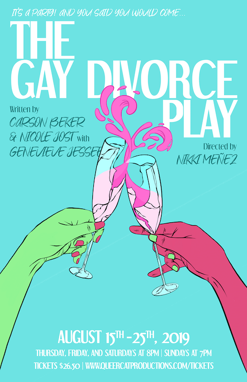 The Gay Divorce Play - It's a party! And you said you would come…