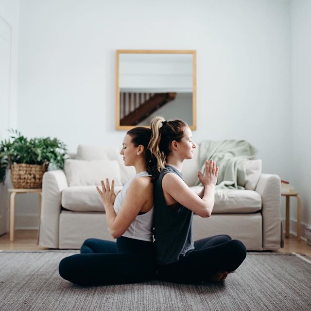 Inhale love and gratitude toward yourself. Exhale send love and gratitude to someone you know.  Gratitude meditation is now LIVE on the Soul Squad site! And today is your last chance to get it. Along with lots of other amazing resources for less than the price of one drop in class. 🙌🏼 As per your request, we recorded an extra meditation! It's an audio recording of the 4-part breathing exercise we explained on our IGTV video channel.  Let us know what you think! 🙏🏼 Ps. Today is the last day to sign up and receive any of this month's content. Link in bio to join the squad.