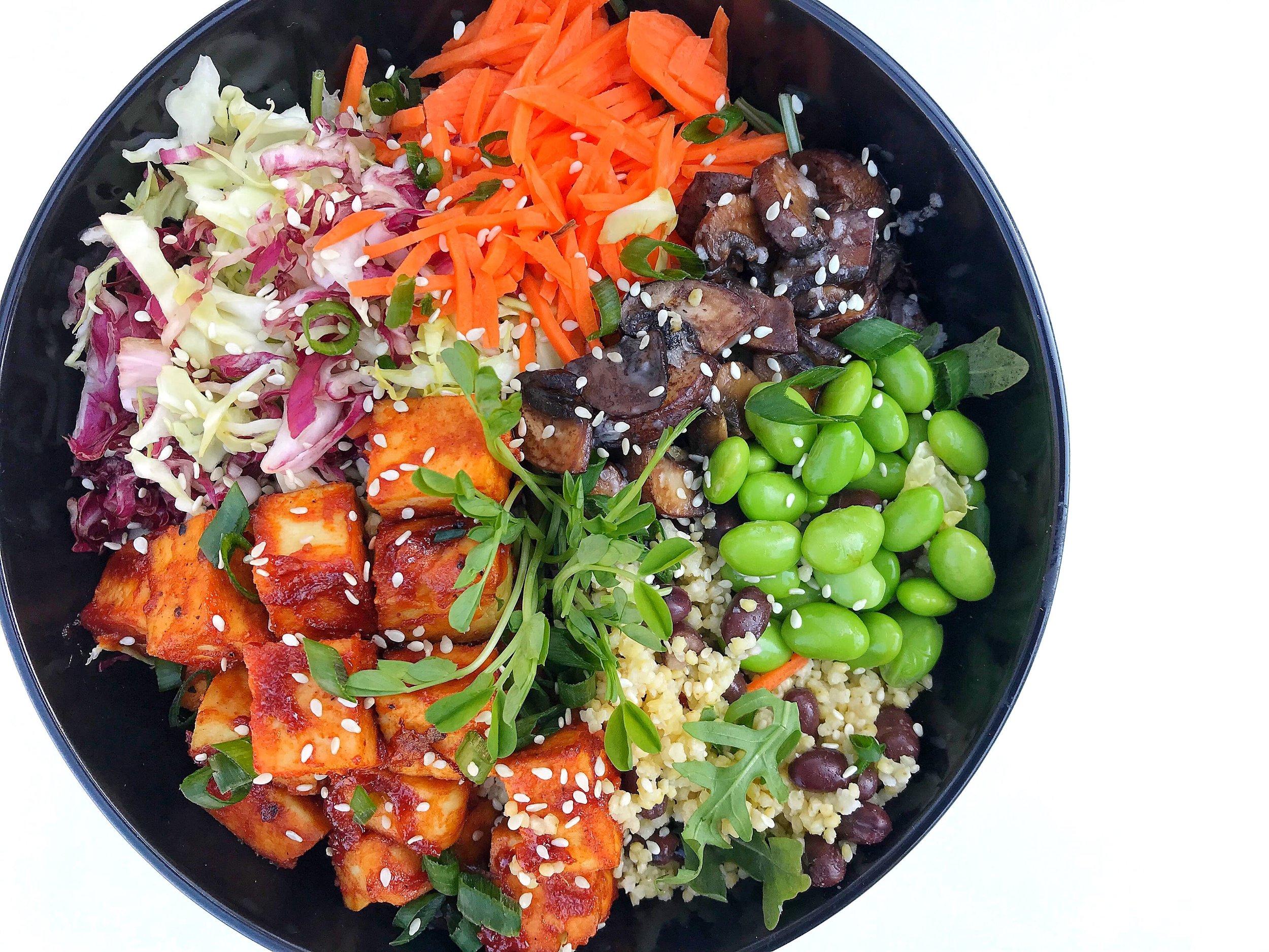 Szechuan Tofu Bowl