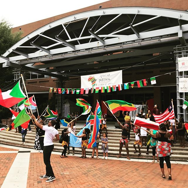 Parade of the Flags!  Represent Africa in Lancaster! @rafiki.africa