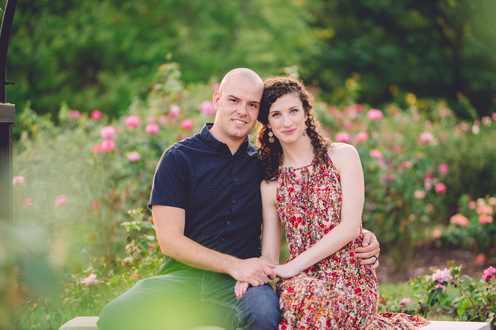 Bon Air Park Rose Garden Engagement Photos-13.jpg