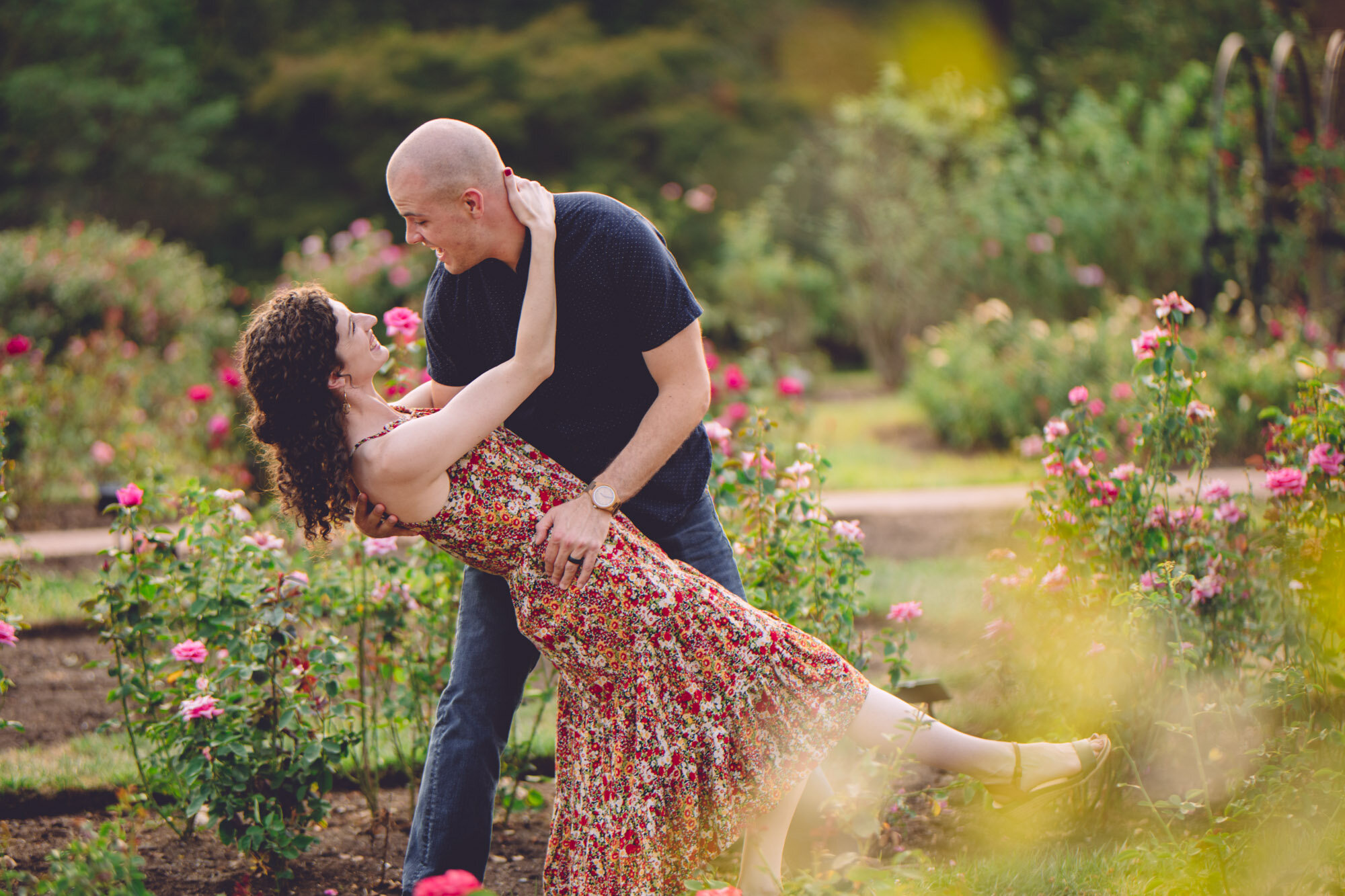 Bon Air Park Rose Garden Engagement Photos-16.jpg