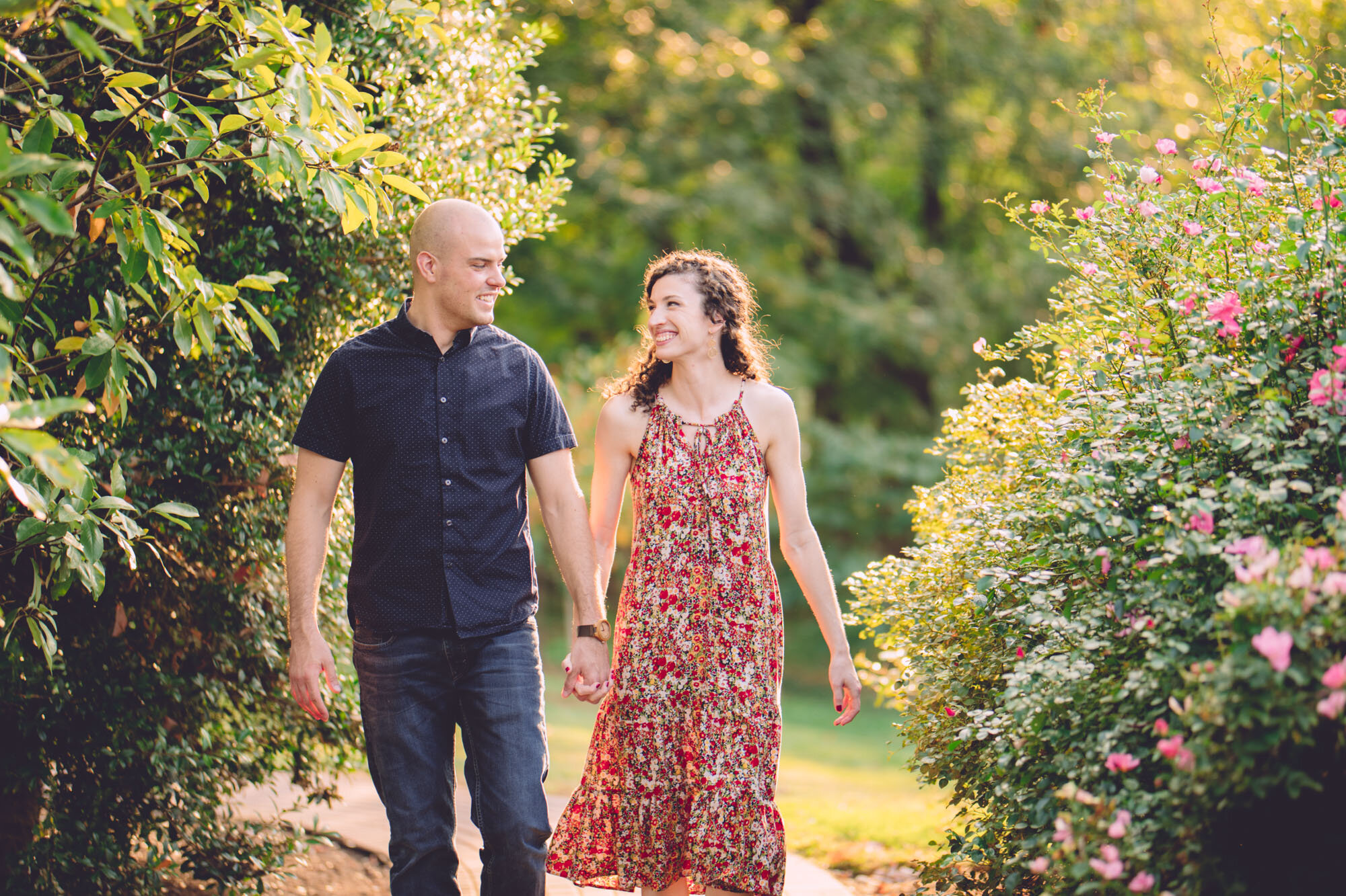 Bon Air Park Rose Garden Engagement Photos-4.jpg