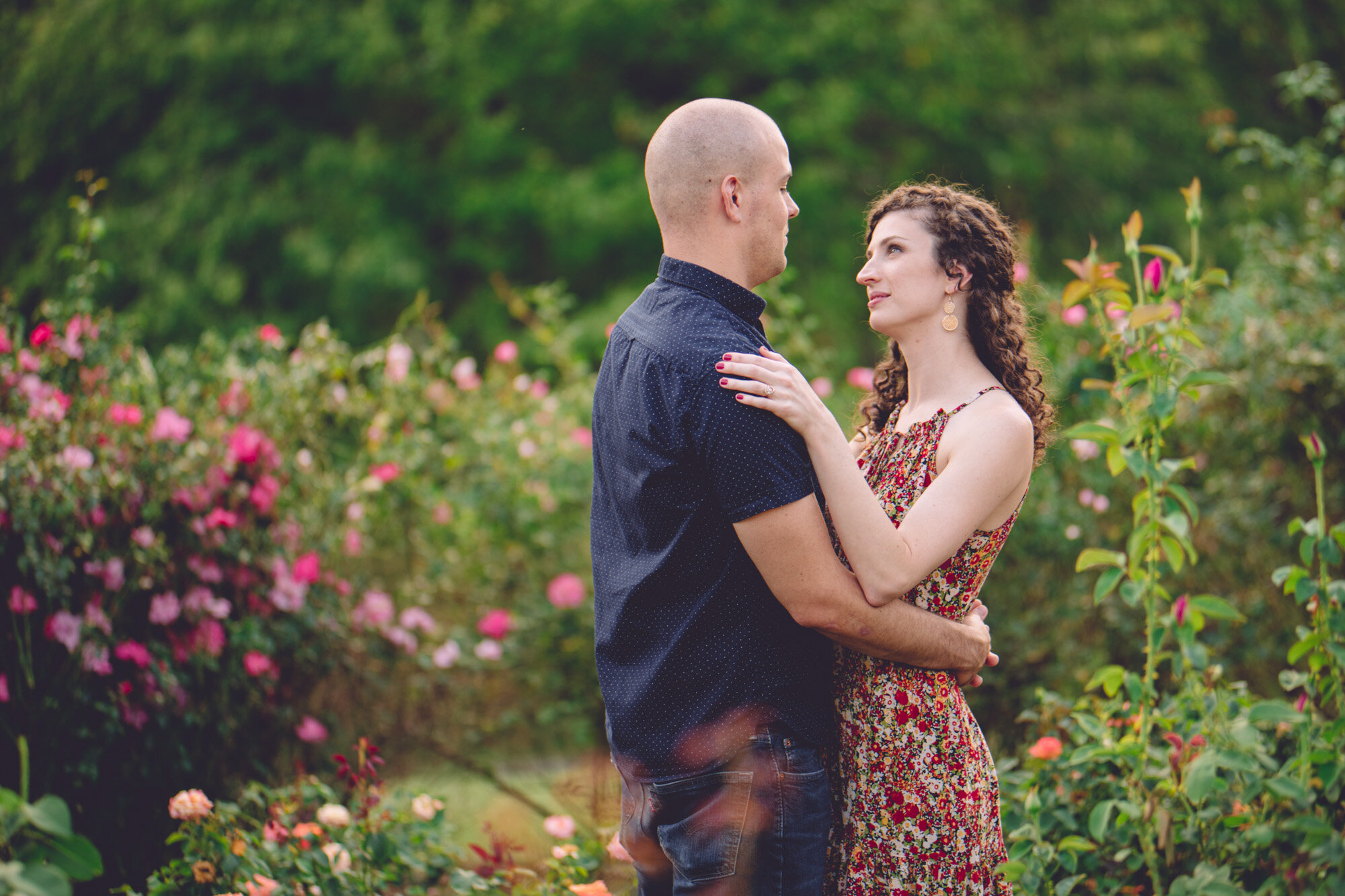 Bon Air Park Rose Garden Engagement Photos-14.jpg