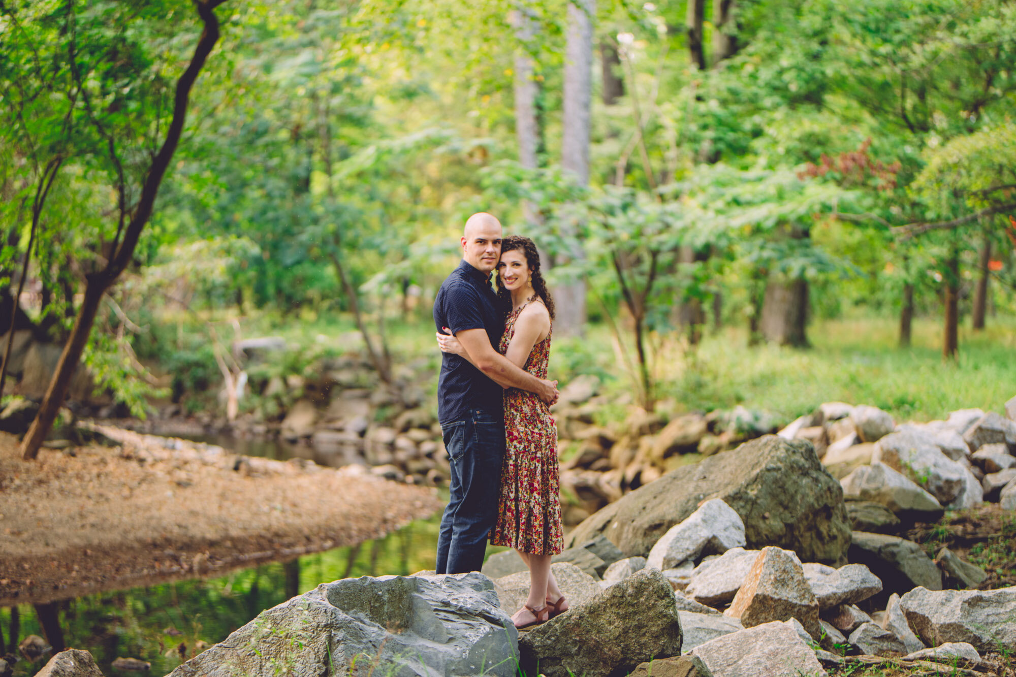 Bon Air Park Rose Garden Engagement Photos-18.jpg