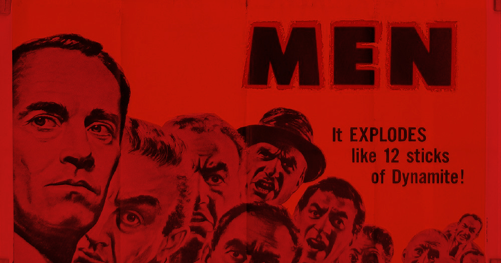12 Angry Men film poster: detail