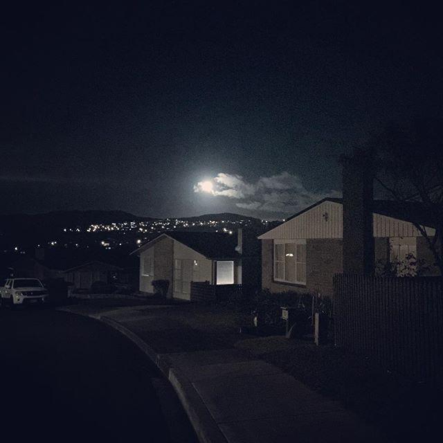 Moonday. #nightsky #moon