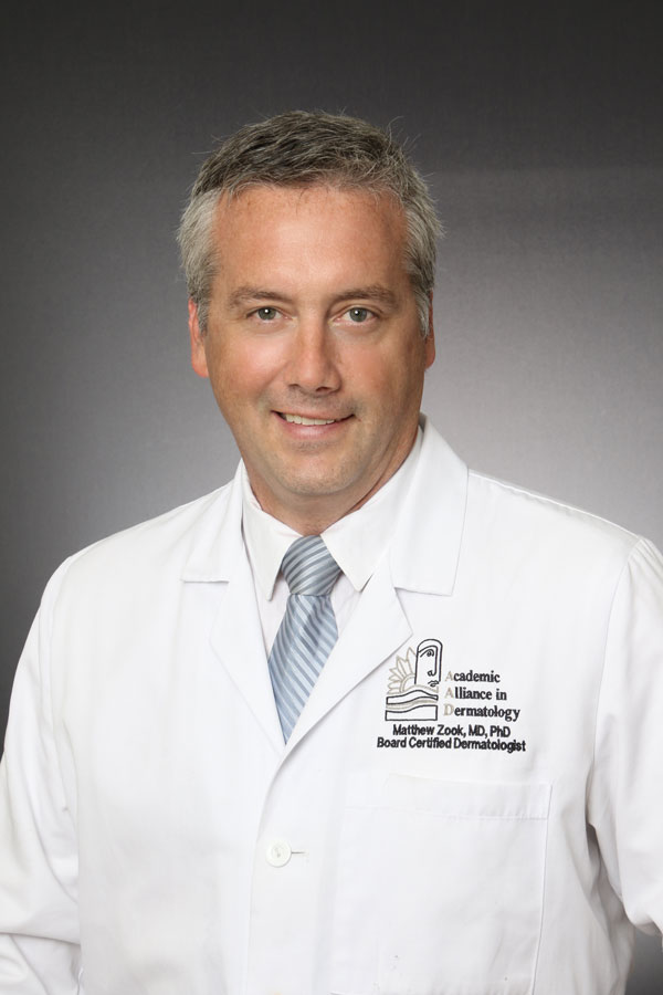 Matthew Zook, MD, PhD, FAAD, FASMS