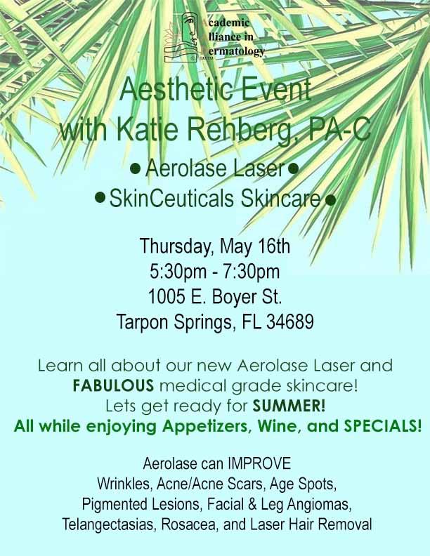Aesthetic Event With Katie Rehberg