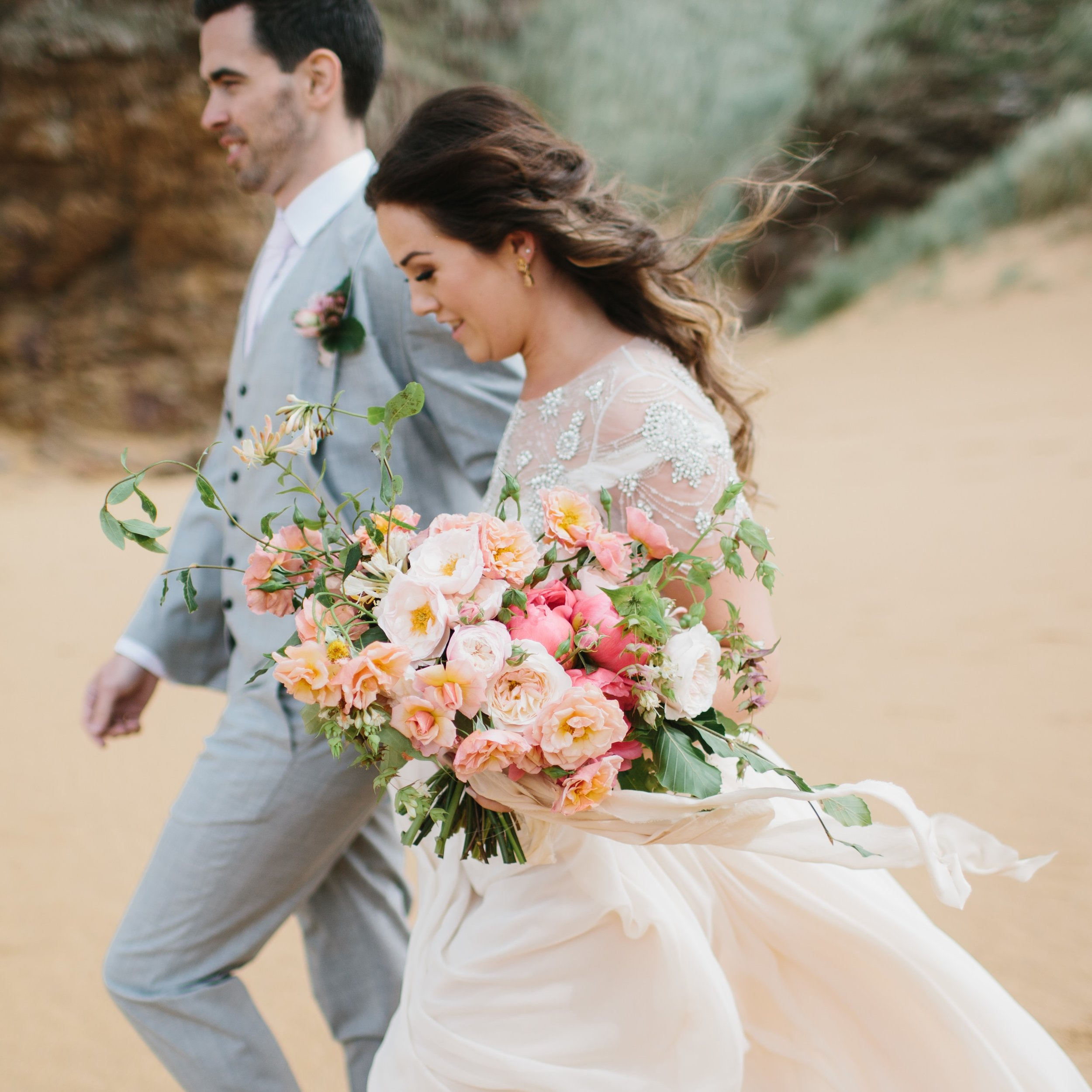 INTIMATE SEASIDE WEDDING -