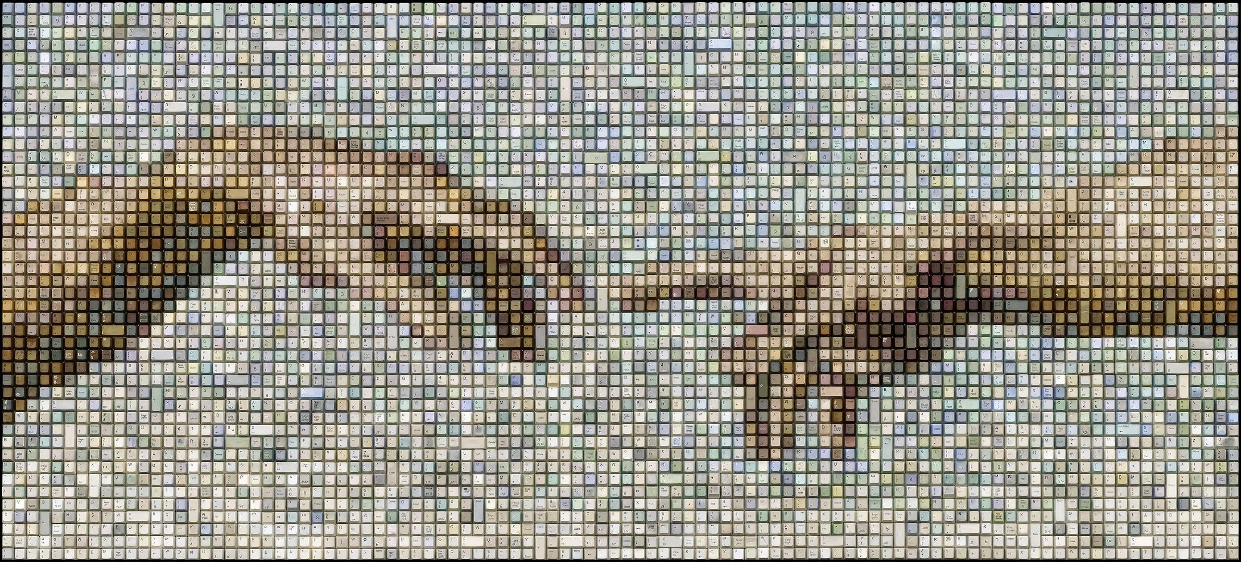 CREATION OF ADAM  | 33 X 72 in   ORIGINAL  |  PRINTS