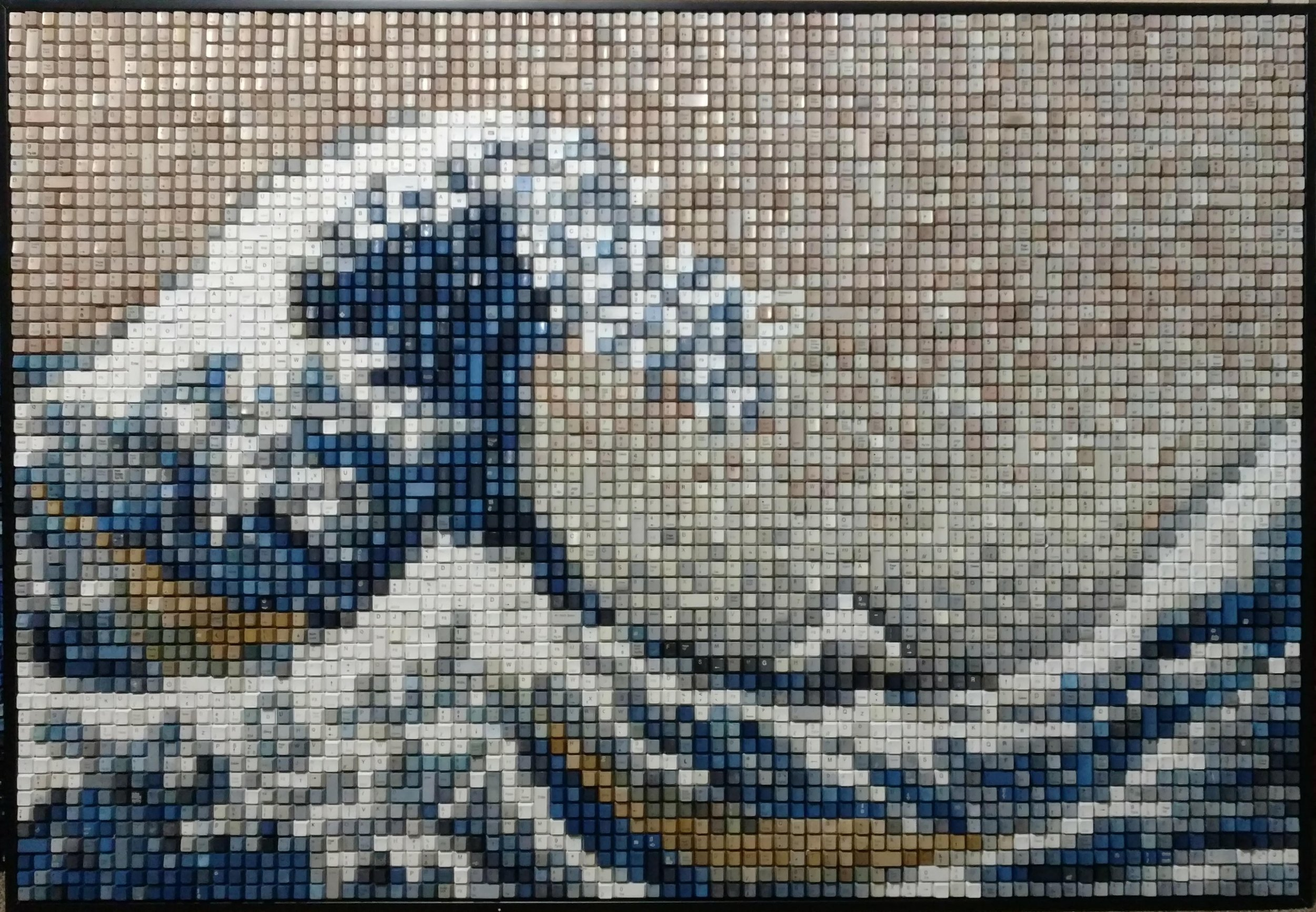 GREAT WAVE  | 40 X 58 in   ORIGINAL  |  PRINTS
