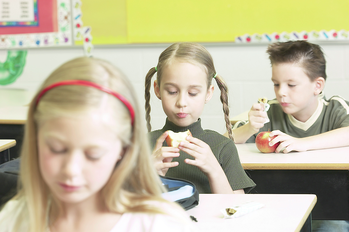 Approximately 33,000 children enrolled in the local schools are eligible for free or reduced meals -