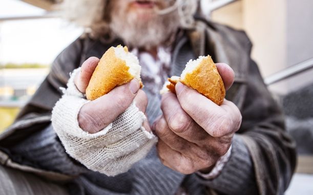 Winston-Salem ranks seventh on a national list of metropolitan statistical areas with the highest rate of food hardship. -