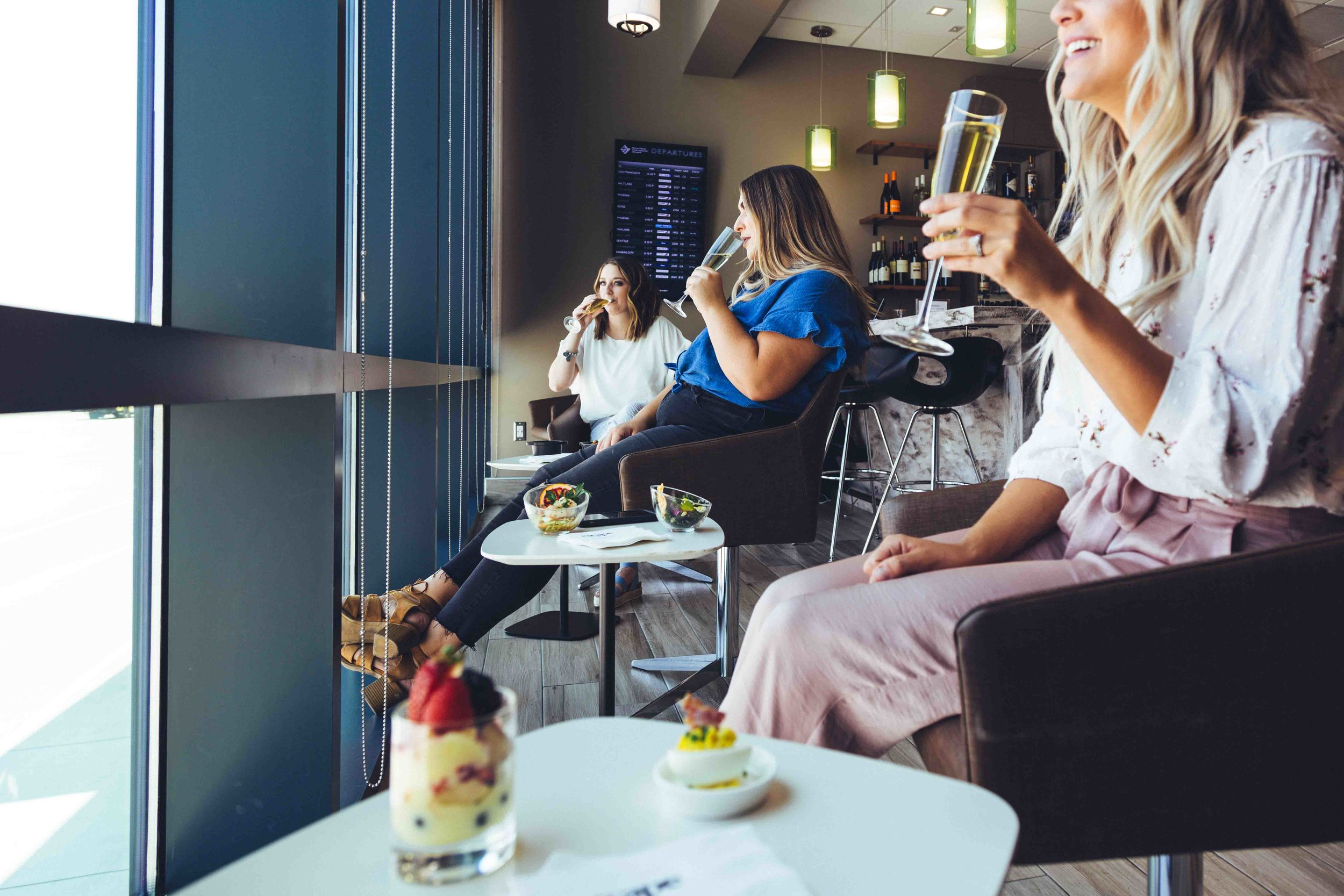 airport lounges - An award winning common-use airport lounges that'll solidify your airport as the go-to destination for discerning passengers.