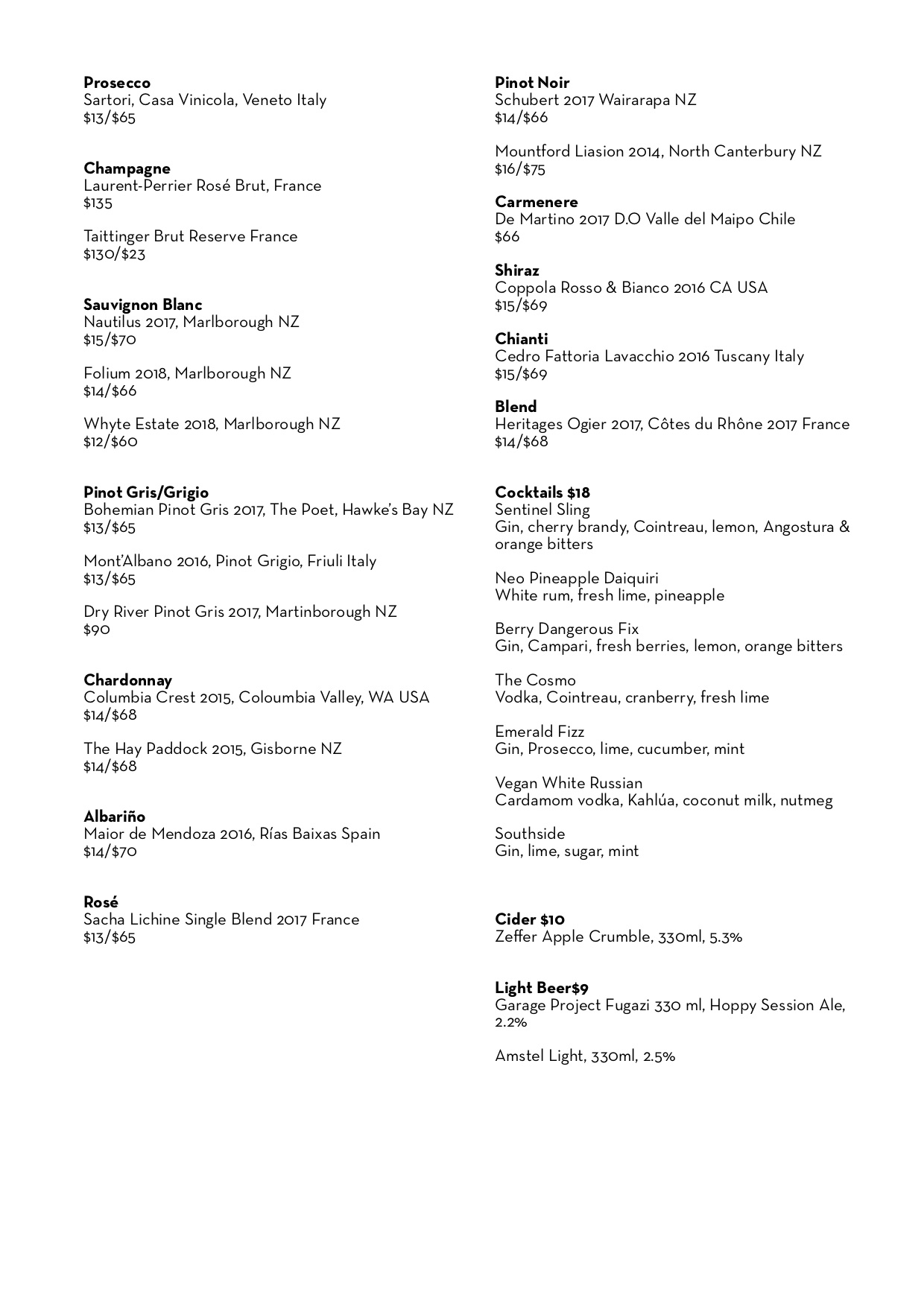 THE new Winelist- Drinks only page 2.jpg