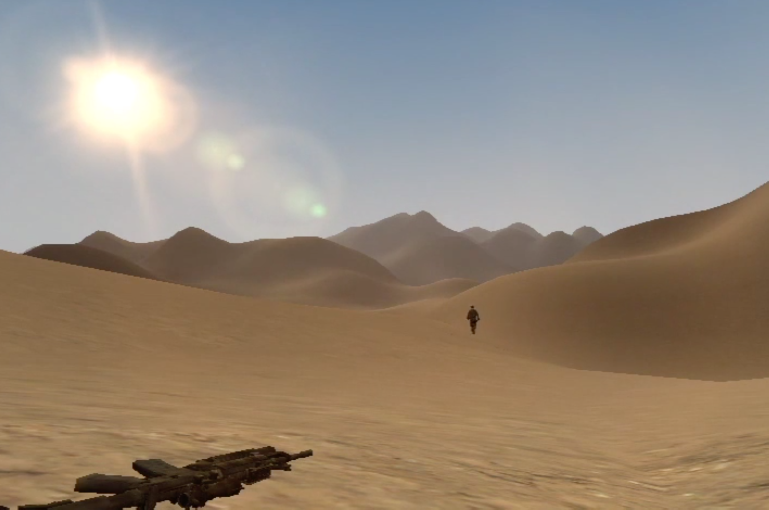 Welcome to the Desert of the Real  (Paolo Pedercini, 2009)
