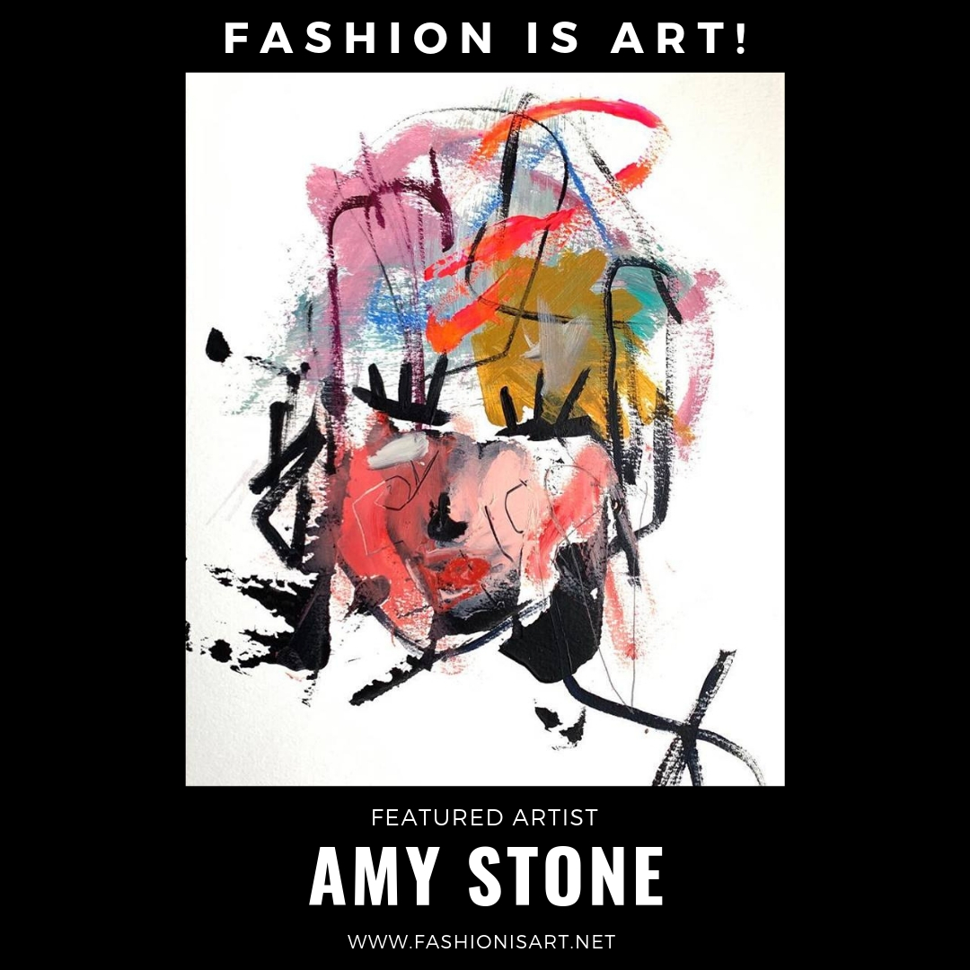 AMY STONE - Amy Stone was born and raised in the suburbs of New York City. She has a BA in Fine Arts and Comparative Literature from the University of Colorado, and a Masters in Art Education from Hofstra University. Since relocating to Seattle in 2014 with her family, she has shifted her medium to painting with a focus on abstract expressionism and abstract women. A mom of two young boys, she draws inspiration from even the most mundane tasks in her daily life. Stone says that her work relates to the idea of Wabi-sabi; the quintessential Japanese aesthetic. It is a beauty of things imperfect, impermanent, and incomplete. A beauty of things unconventional. This is often how her paintings are described. Stone says this idea is translated to her work as she strives to create a balance of color, texture, movement, and energy.Website: www.amystoneart.comFacebook: @amystoneartInstagram: @amystoneart