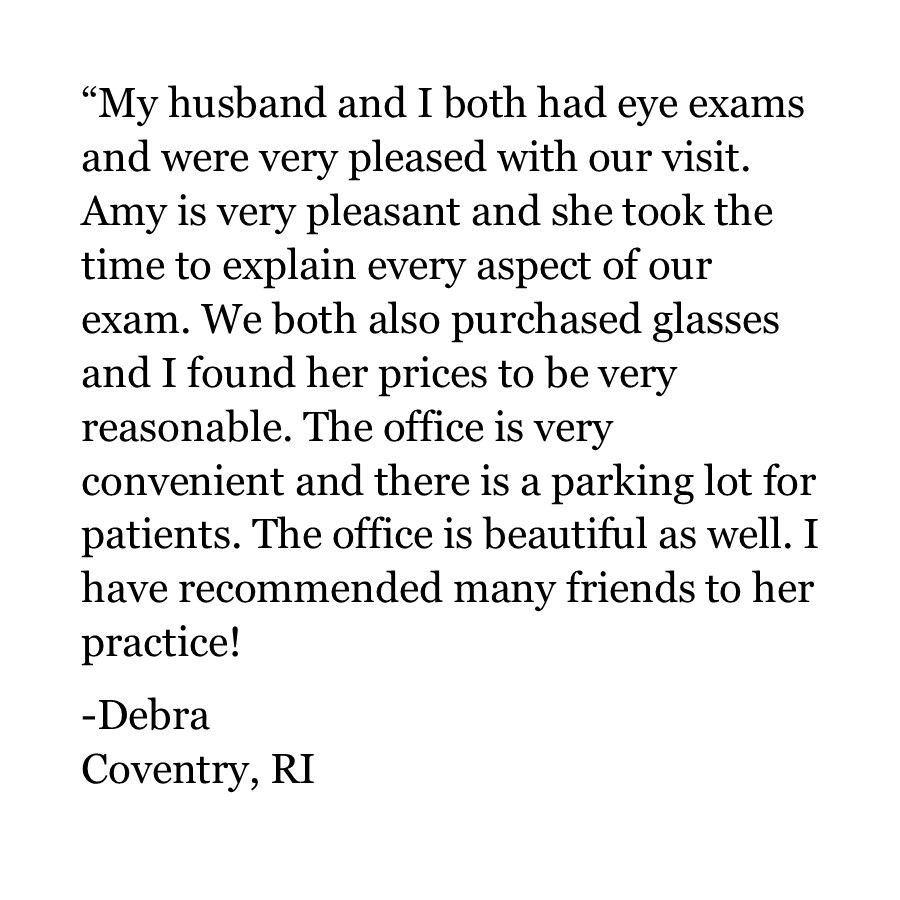 Debra | Coventry RI | Testimonial