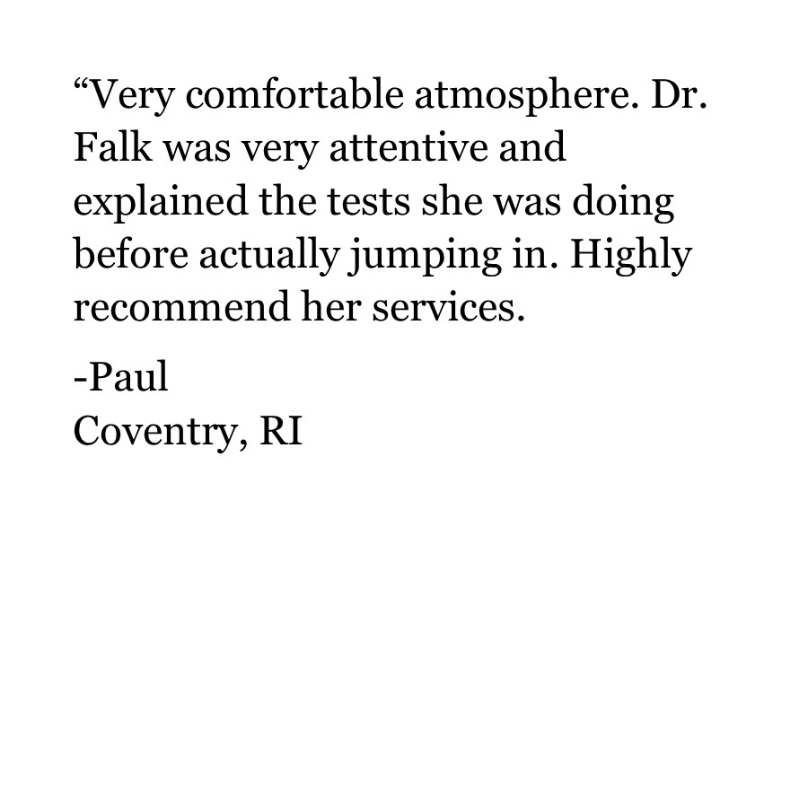 Paul | Testimonial | Coventry RI