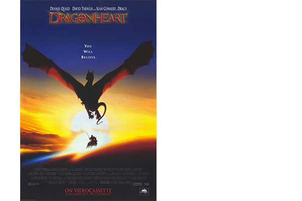 Working on Universal's Dragonheart - where I discovered my undying passion for costume design