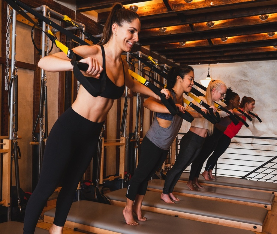 TONE IT - Work muscles you never knew you had! Feel the slow burn by pushing your muscles to the point of fatigue. This class blends light weights, bodyweight resistance, TRX and more to make your muscles more defined but not without shaking along the way.