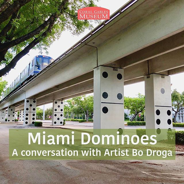 "All welcome to my exhibition and artist talk at the Museum Coral Gables October the 18th from 6pm to 8pm.  Miami Dominoes ""The Good , Bad and the Ugly"" This is what Daiana Rocha (Emmy Award winning journalist) had to say about the art work: ""Miami Domino will soon turn into an iconic symbol of Miami. The kind of art that will be used as a landmark to reference our city all around the world. It represents Miami in so many implicit ways that is impossible to go unnoticed."" Luis Hernandez WLRN's Sundial: ""Miami Dominoes has touched the soul of Miami""  My South Florida Today. ""This is why local public art is so important. We all love dominoes. Thank you for this lovely installation""  John Edward Smith Publisher of South Miami Magazine ""Miami Dominos gives life to a barren urban landscape seen for over 35 years and foreshadows the creative possibilities coming with The Underline. It is truly an exhilarating and refreshing public art installation."" The photo above is the ""before & after "" Miami Dominoes first stage.  www.bodroga.com #sculptures #artcurator #artgallery #artist #artwork #abstractart #abstract  #contemporaryart  #dailyart #artist_features #avant.arte #australianartist #sydneyartist #olsengruingallery #olsengallery #artcentersf #theellies #miamiart #miaminailartist #coralgablesmagazine #coralgablestv #onlyindade #miamibikescene #mysouthfloridatoday  #culturecruise  #cubamiami #timeoutmiami  #cbs4miami #beyondsouthbeach"