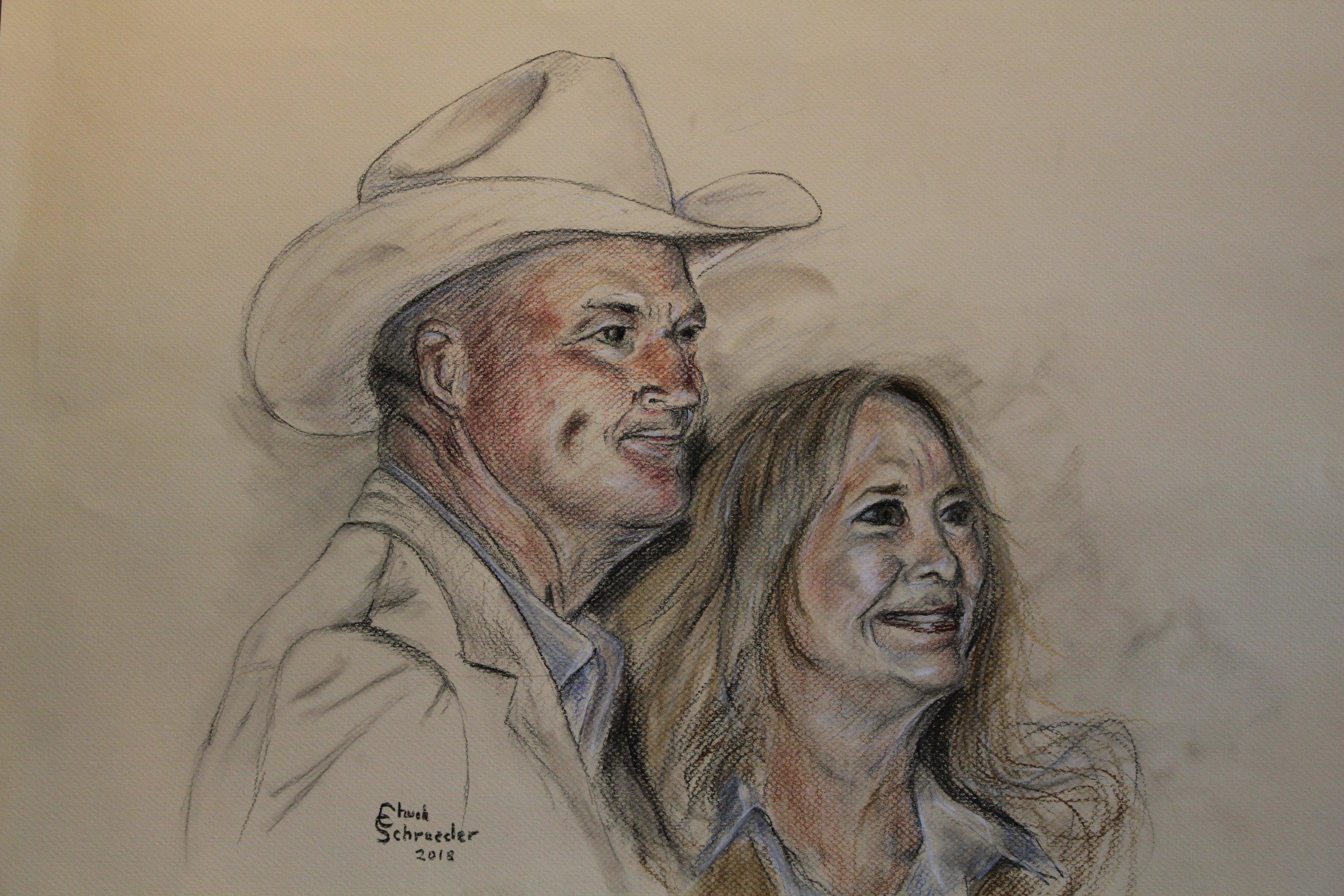 Chuck Schroeder - Doug & Linda Clark