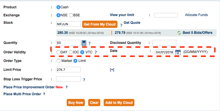 ICICIDirect VTC buy