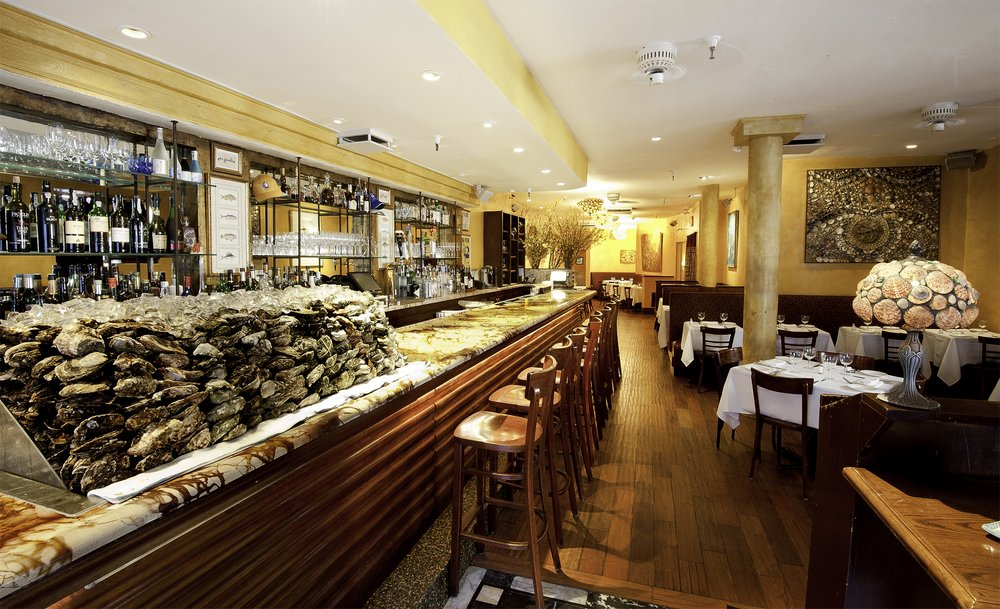 Aquagrill - Popular SoHo spot with an upmarket seafood menu & a raw bar offering a large selection of oysters.