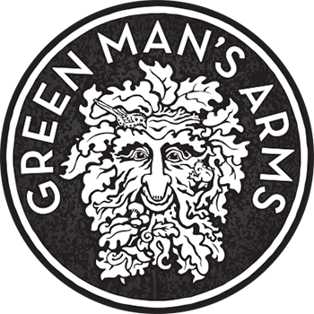 Green Mans Arms Logo Monotone Mottled GS.png