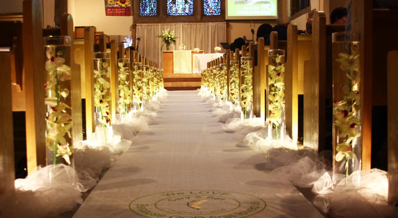 montreal wedding ceremony aisle decorations.JPG