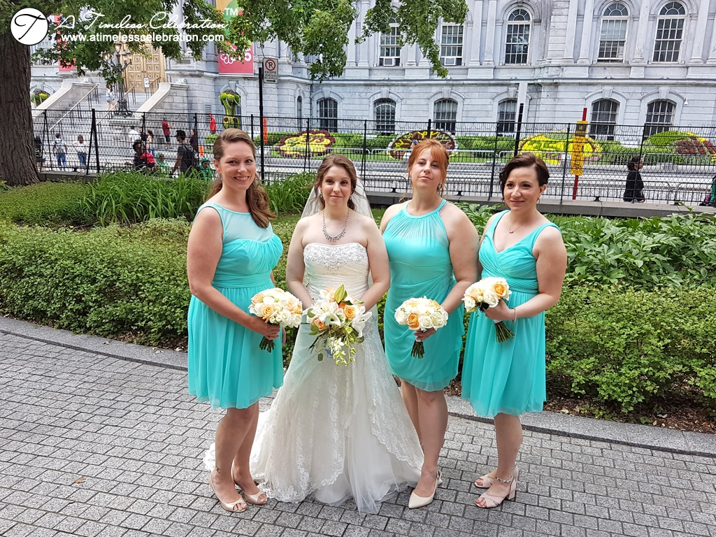 Rustic Wedding Ceremony Flowers Chateau Ramezay Auberge Vieux Port Planner Coordinator