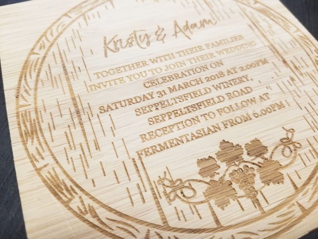 Wooden Laser Engraved Custom Made Wedding Invitations.jpg