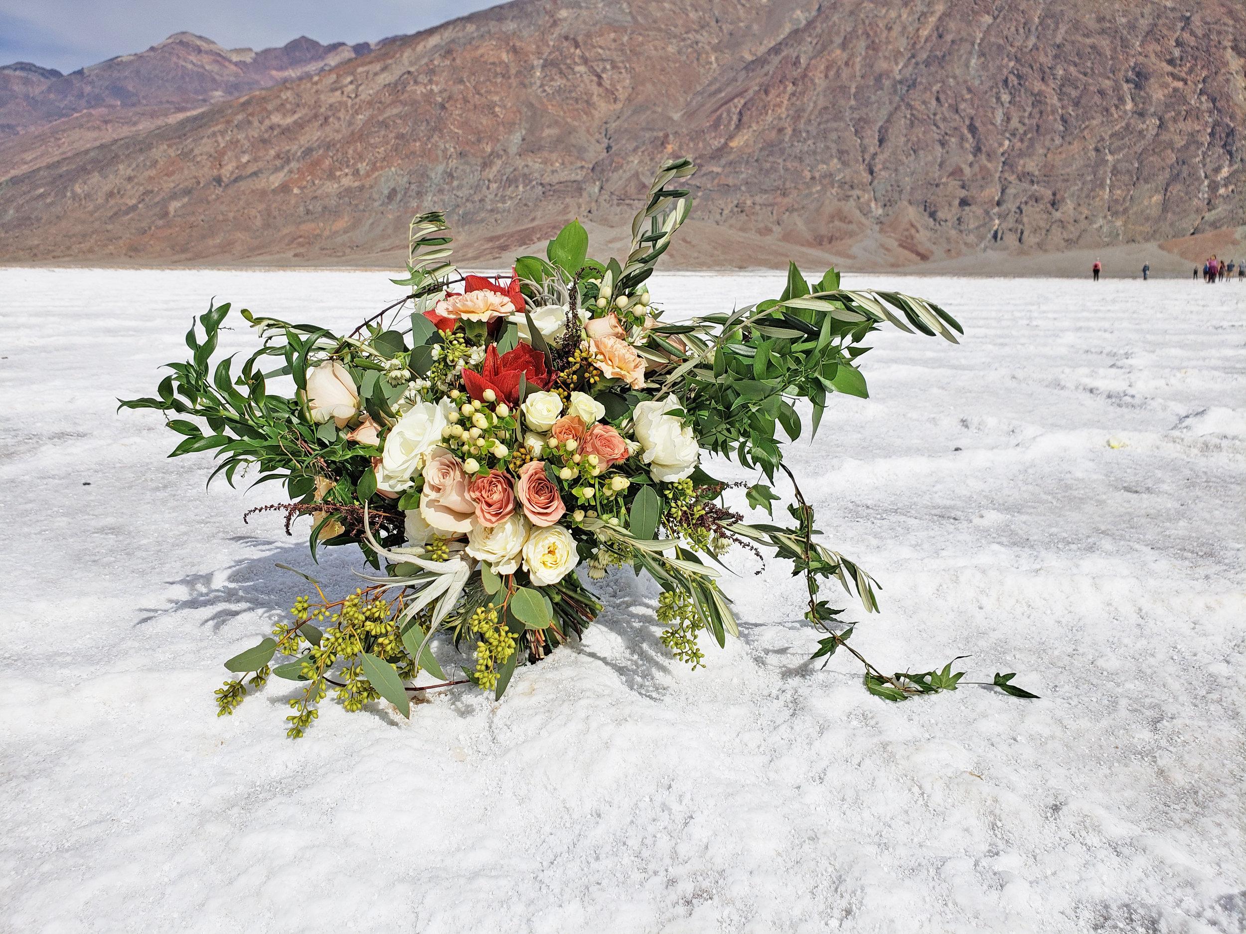 Death Valley Wedding Photoshoot Montreal Florist