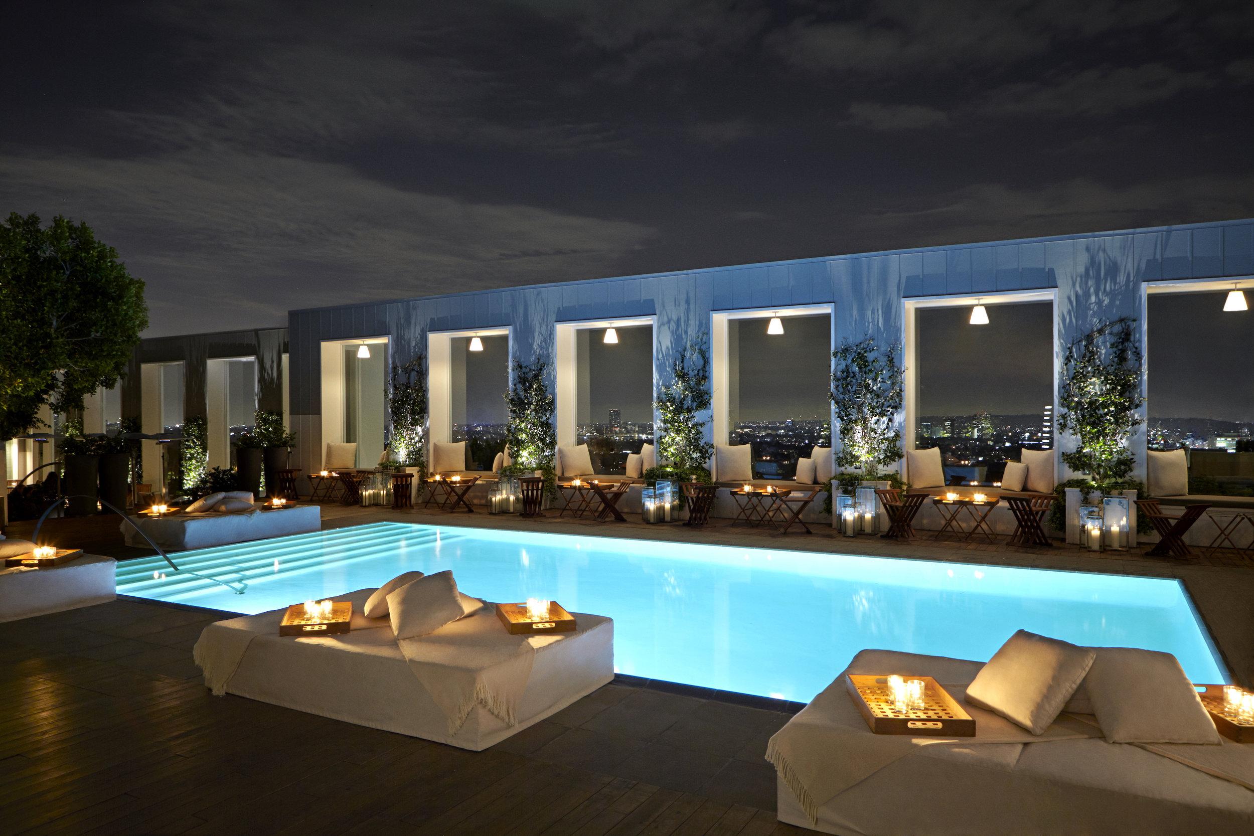 Hotel Mondrian Los Angeles