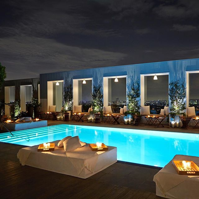 Why not stop in LA?This luxury boutique hotel in the heart of West Hollywood captures everything the Strip stands for – excitement, invincibility and glamour .Centrally located in the heart of West Hollywood on the Sunset Strip, Mondrian is a convenient distance from Beverly Hills, Hollywood, Burbank, and the Downtown Los Angeles Business District. Mondrian is also walking distance to nightlife, restaurants, shopping and theatre. @mondrianlosangeles . . . #la #losangeles #california #mondrianlosangeles #sbecollection #rooftop #luxurytravel #luxuryshopping @shadesofseaexpeditions