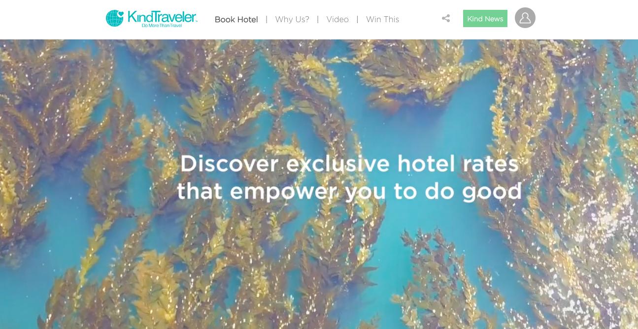 Kind Traveler - Website copy and managing editor