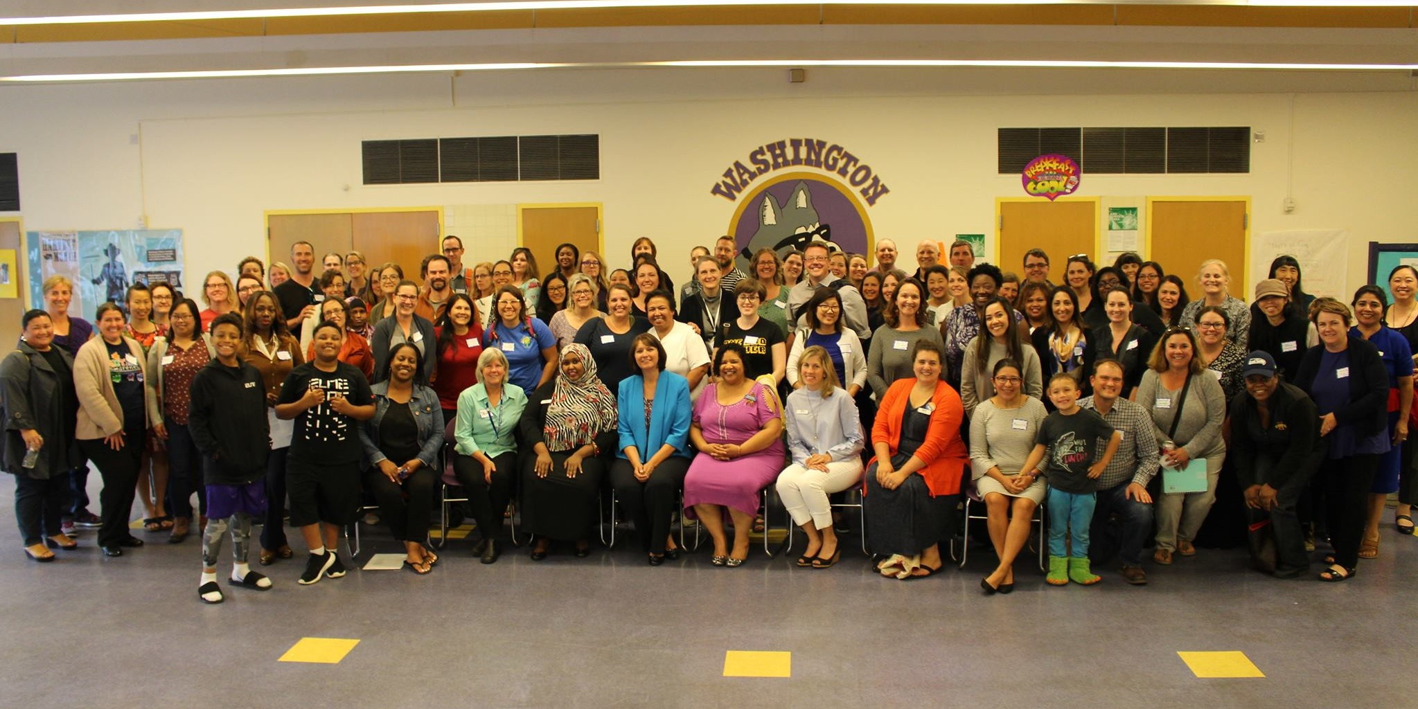 Our first general meeting with Seattle's Superintendent Denise Juneau  June 2018