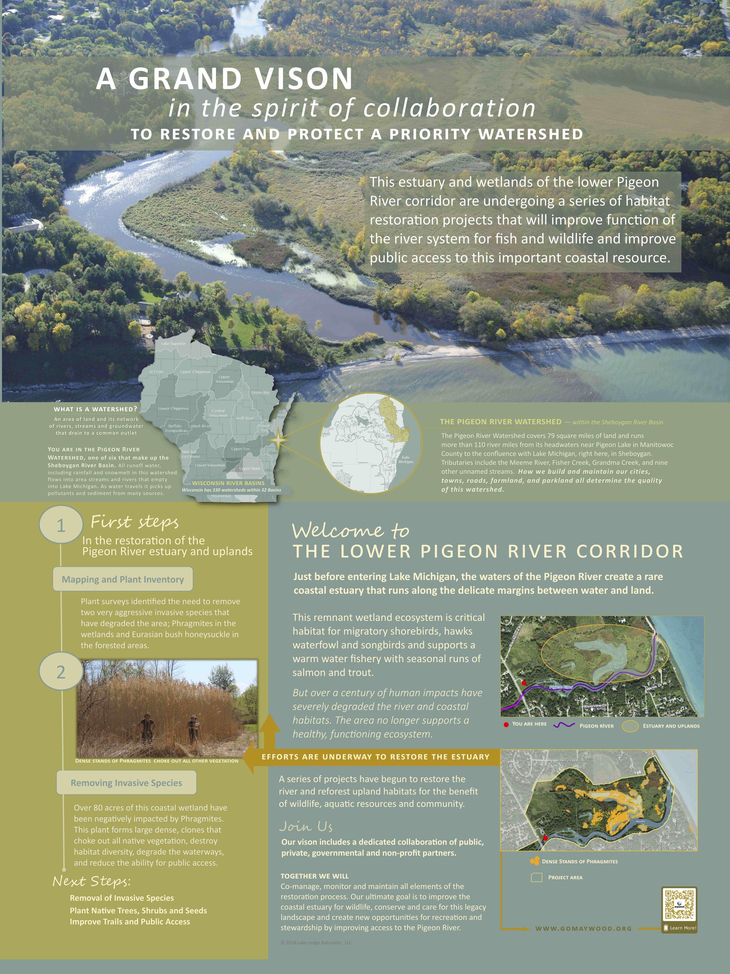 Pigeon River Estuary Restoration Project