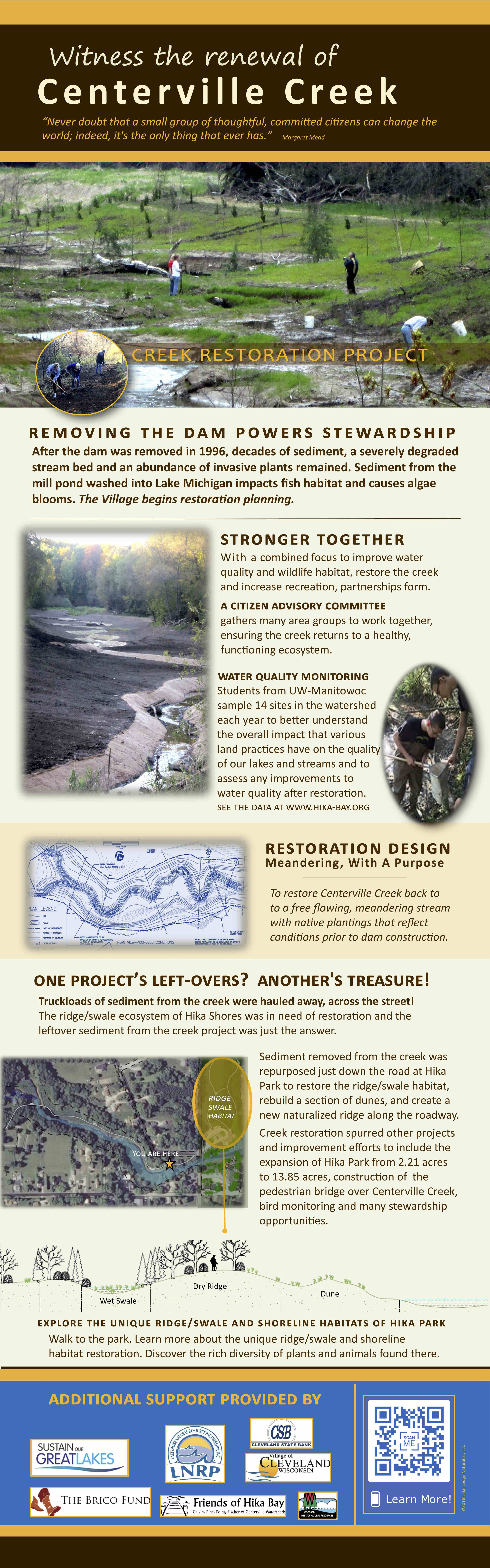 Centerville Creek Restoration Project