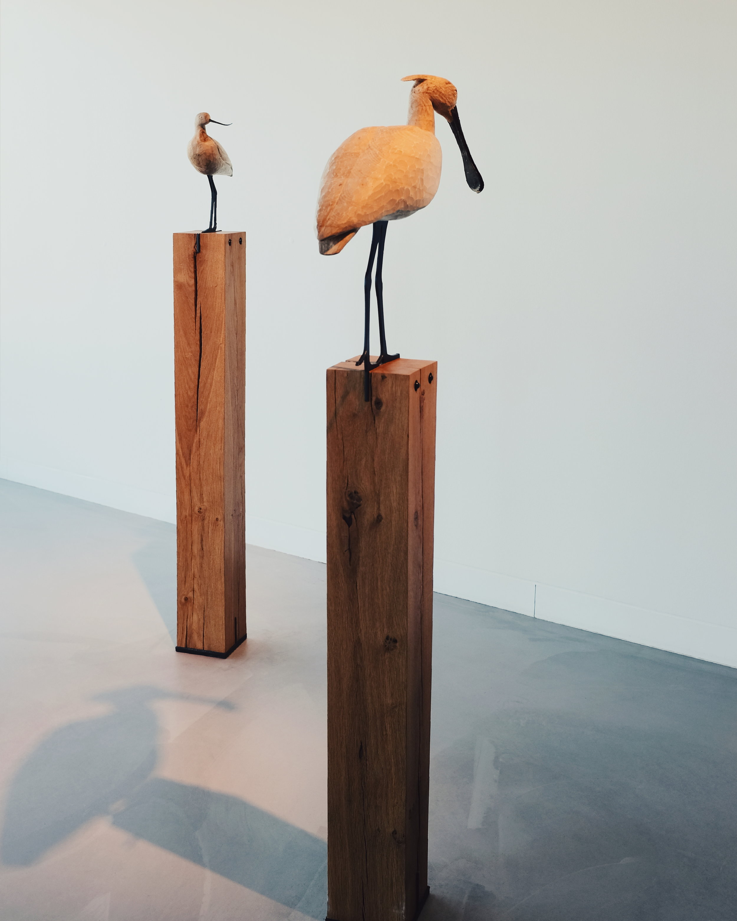Wooden Wadden Sea birds