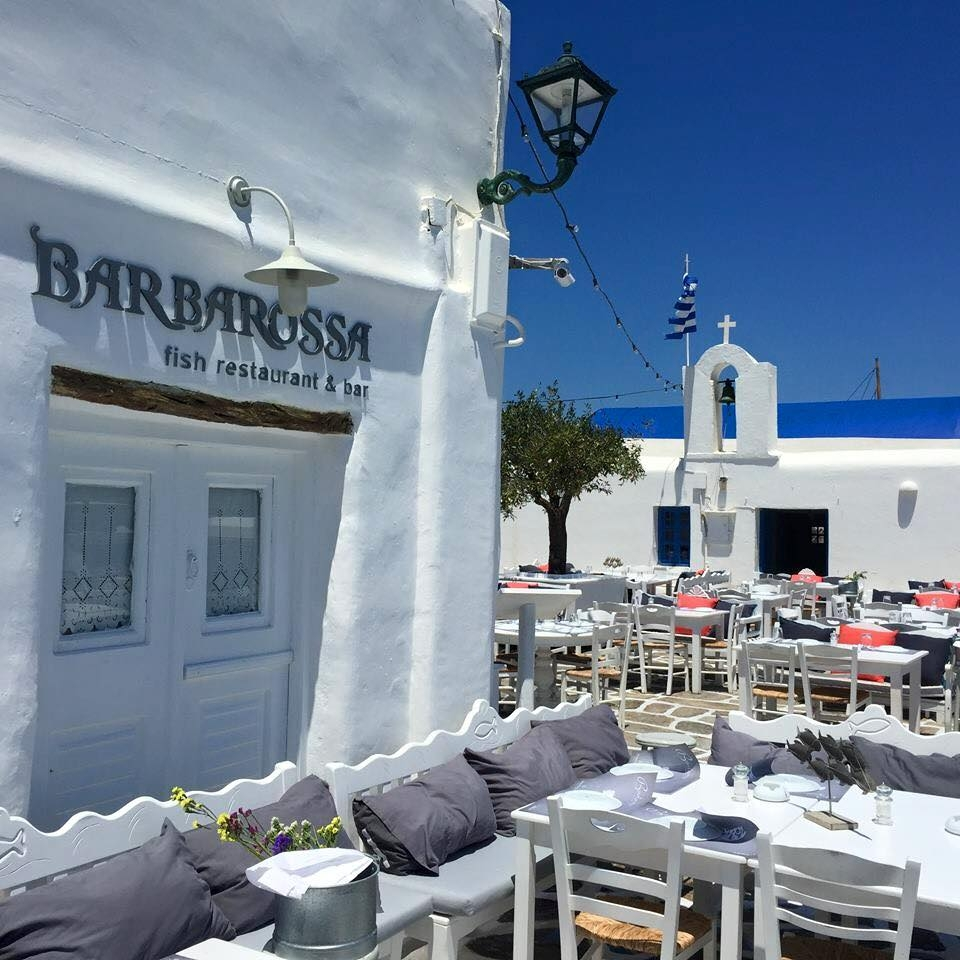 BARBAROSSA - RESTAURANT BAR NAOUSA- PAROS