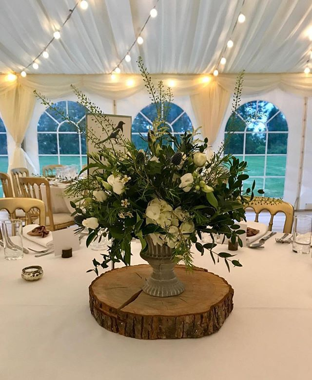 Classically wild wedding of Magda & Becky in a truly stunning venue - Salcote Place. Congratulations from @warrior_flowers x