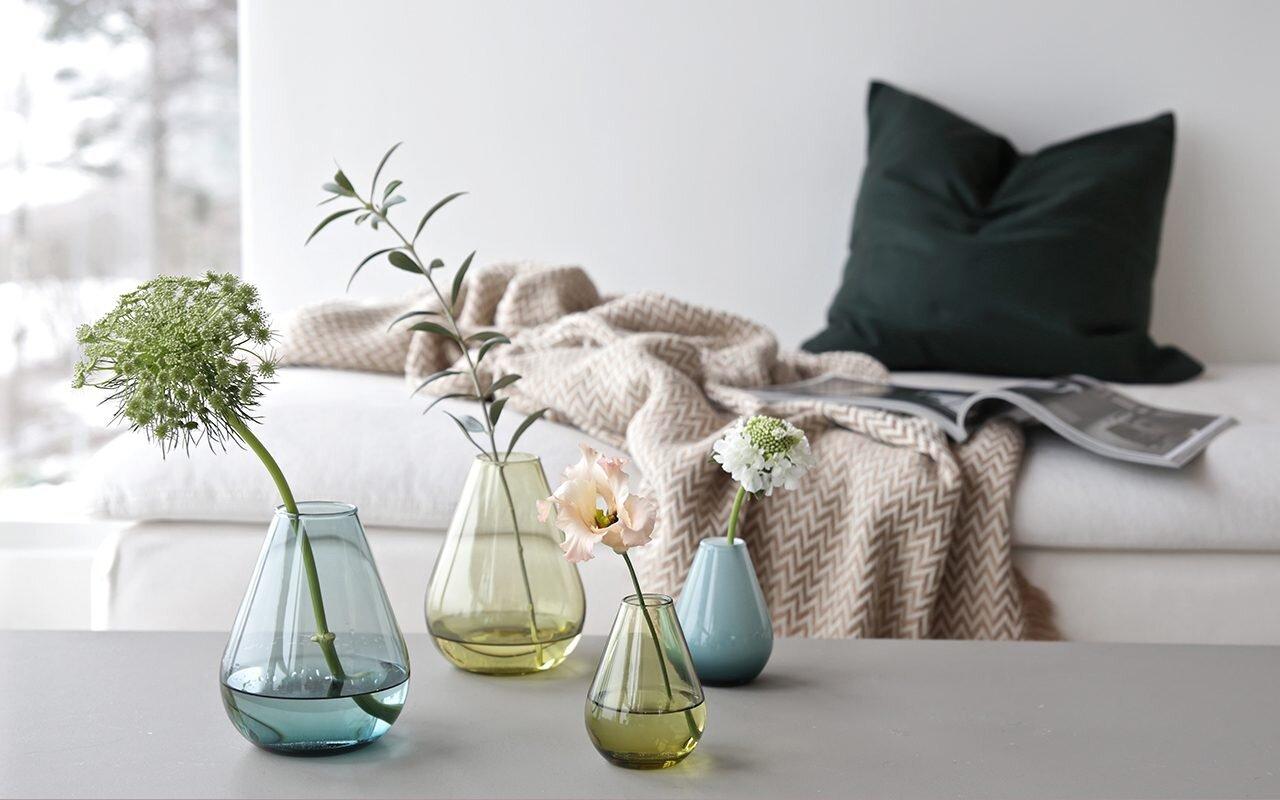 Wik & Walsøe - De 200 første som melder seg på får en vase fra Wik & Walsøe i fargen klar/hvit (foto fra Wik & Walsøe).