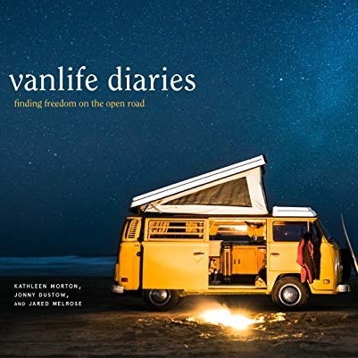 Vanlife Diaries Book - Back cover photo and additional photo features