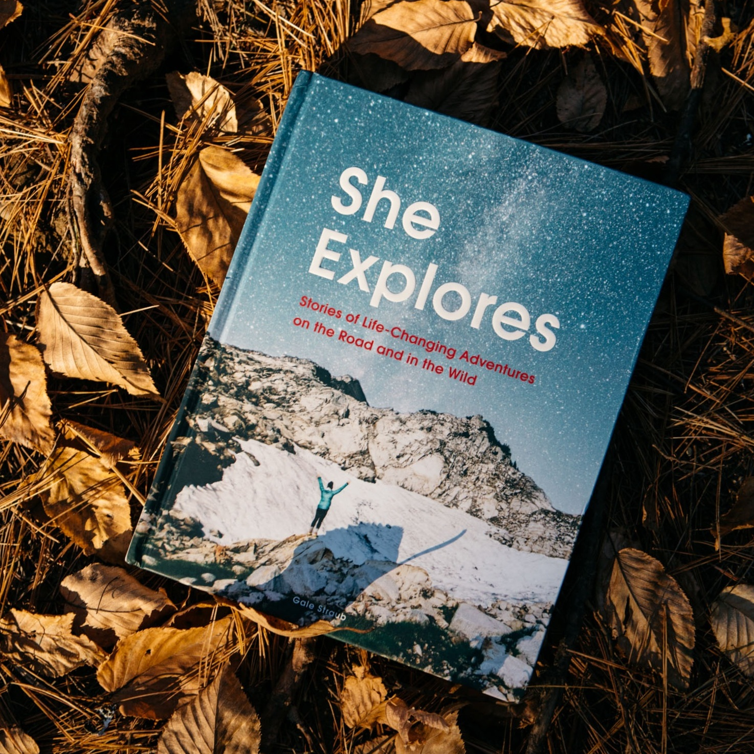 She Explores Book - Back cover photo, chapter feature with photos: Long Weekends and Longer Weekends