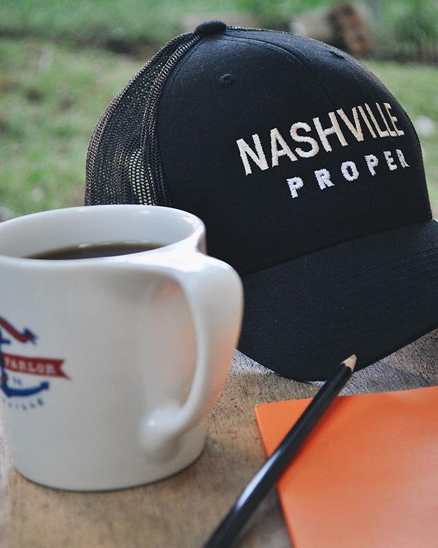 Nashville state of mind. #beproper