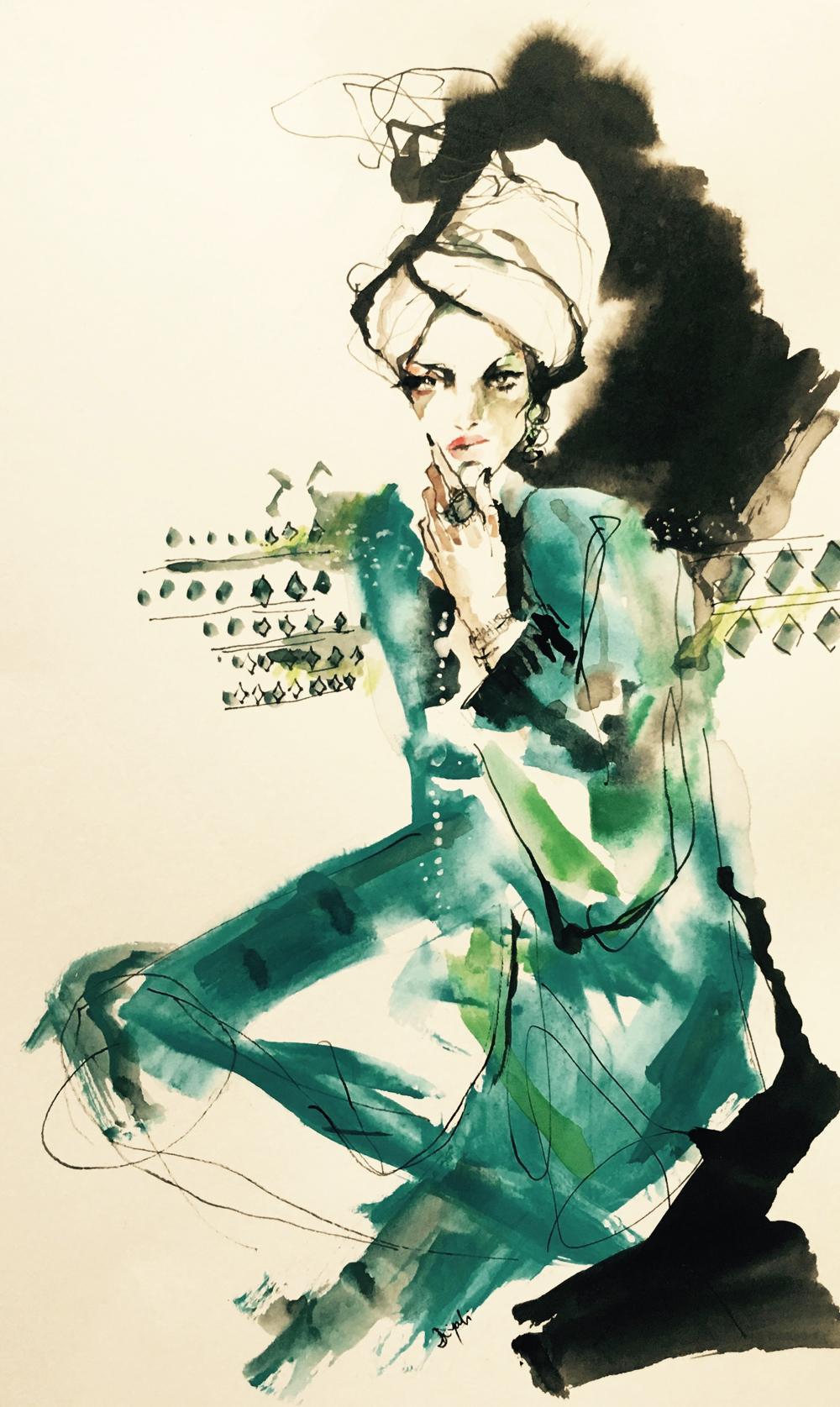 Vogue Arabia: How the Kaftan Went Global